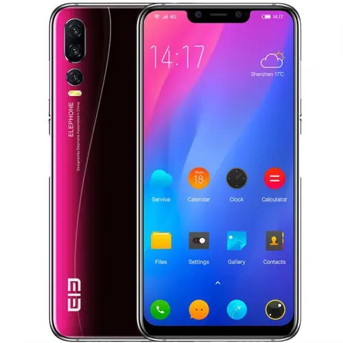 Elephone A5 4G Phablet 6.18 inch