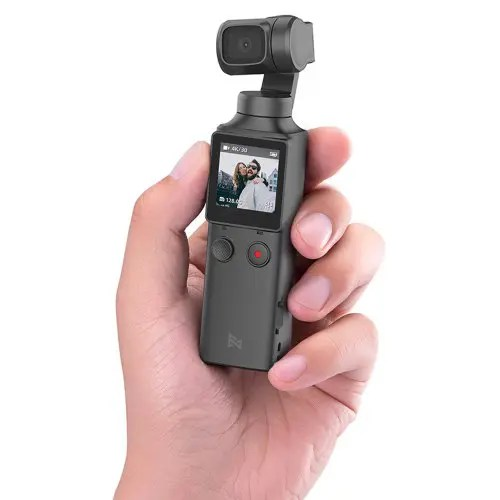 FIMI PALM 3-Axis 4K HD Handheld Gimbal Camera Pocket Stabilizer 128° Super Wide Angle Anti-shake Shoot Smart Track Built-in Wi-Fi Bluetooth Remote Control ( Xiaomi Ecosystem Product )