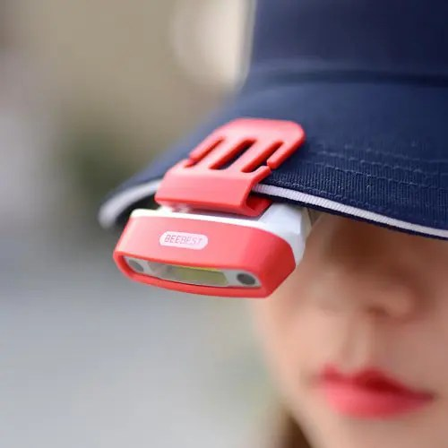 BEEBEST FH200 100lm Gesture Sensing Clip Headlamp Portable COB LED Rotatable Flashlight Rechargeable Hands-free Cap Light for Reading Hunting Camping Fishing from Xiaomi youpin