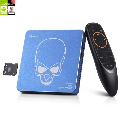 Beelink GT-King Pro Android 9.0 CoreELEC Linux Dual Operating System HiFi Lossless Sound 4K TV Box