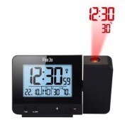 FanJu FJ3531 Projection Alarm Clock with Temperature and Time Projection