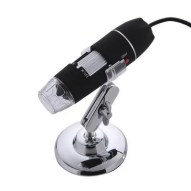 USB Microscope Endoscope 50-500X 8 LED Digital Magnifier Camera Black
