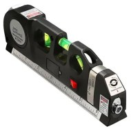 Multipurpose Level Laser Measure Line Adjusted Standard Metric Ruler