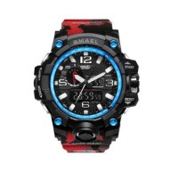 SMAEL Camouflage 1545B Watch Men New Style Digital Waterproof Sports Military