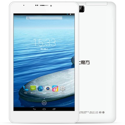 Cube Talk8 U27GT - 3G Android 4.4 3G Phone Tablet PC with 8 inch WXGA Screen MTK8382 Quad Core 1.3GHz Dual Cameras WiFi 8GB ROM