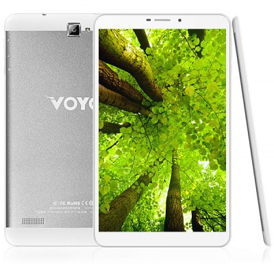 VOYO X7 Android 4.4 3G Phablet with 8.0 inch WXGA IPS Screen 1.7GHz MTK8392 Octa Core 16GB ROM GPS Dual Cameras