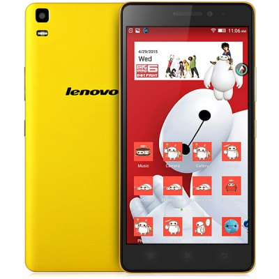 gearbest K3 Note MTK6752 1.7GHz 8コア YELLOW(イエロー)