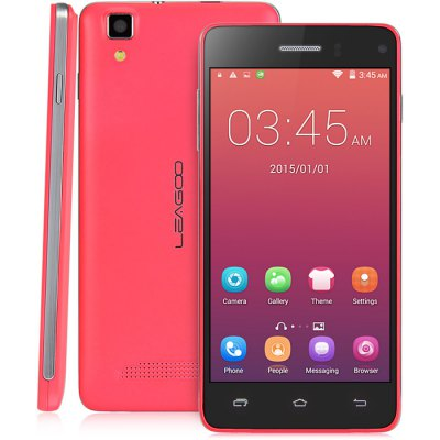 gearbest LEAGOO Lead 6 3G MTK6572 1.0GHz 2コア DEEP PINK(ディープピンク)