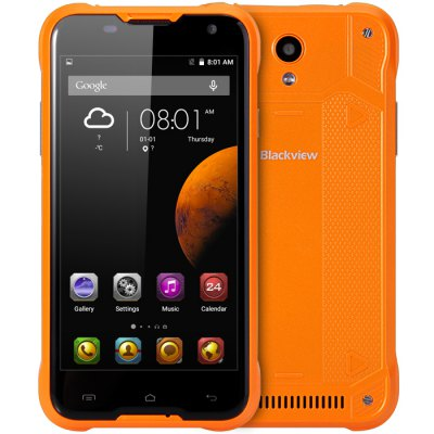 gearbest Blackview BV5000 MTK6735 1.0GHz 4コア ORANGE(オレンジ)