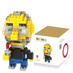 LOZ 170Pcs M - 9333 Steve Job Building Block 3D DIY Brick Toy for Spatial Thinking