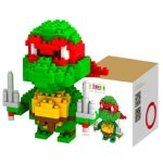 LOZ 210Pcs M - 9149 Teenage Mutant Ninja Turtles Raphael Building Block Educational Assembling Boy Girl Gift for Spatial Thinking