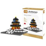LOZ 220Pcs 9364 Heaven Temple Building Block Educational Toy for Cooperative Ability - World Great Architecture Series