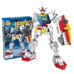LOZ 440Pcs 9350 Gundam Figure Building Block Educational Toy for Improving Patience