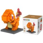 LOZ 110Pcs M - 9142 Pokemon Charmander Building Block Educational Toy for Cooperation Ability