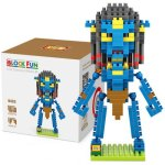 LOZ L - 9462 Neytiri Micro Diamond Building Block 220Pcs Educational Toy