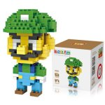 LOZ 160Pcs M - 9126 Super Mario Bros Luigi Building Block Educational Toy for Brain Thinking