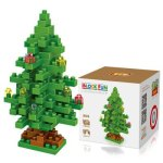 LOZ 130Pcs M - 9123 Christmas Tree Building Block Educational Toy for Brain Thinking
