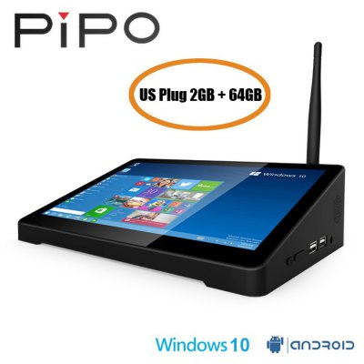 PIPO X9 TV Box 8.9 inch Tablet Mini PC  -  US PLUG  2GB+64GB Цена €131.30