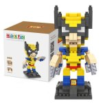 LOZ 240Pcs L - 9459 X-Men Wolverine Building Block Toy for Enhancing Social Cooperation Ability
