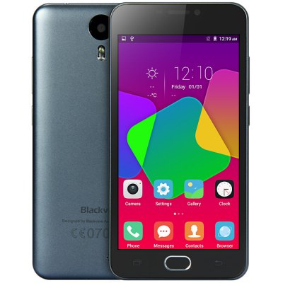 gearbest Blackview BV2000 MTK6735 1.0GHz 4コア GRAY(グレイ)