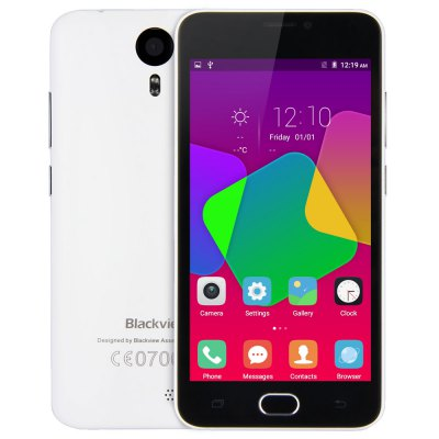 gearbest Blackview BV2000 MTK6735 1.0GHz 4コア WHITE(ホワイト)