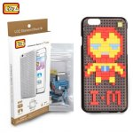 LOZ Iron Man Building Brick Phone Case