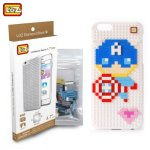 LOZ Captain America Building Block Phone Case