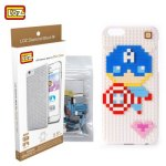 LOZ 5.5 inch Captain America Phone Case