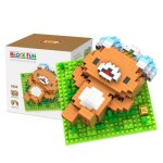 LOZ 270Pcs 9434 Music Rilakkuma Figure Building Block Toy for Enhancing Social Cooperation Ability