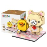 LOZ 310Pcs 9436 Korilakkuma and Kiiroitori Building Block Toy for Enhancing Social Cooperation Ability