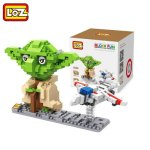 LOZ 390Pcs Star Wars Yoda IQ Training Family Game Perfect Gift