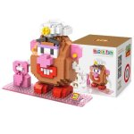 LOZ 380Pcs L - 9506 Toy Story Mrs. Potato Head Building Block Toy for Enhancing Social Cooperation Ability