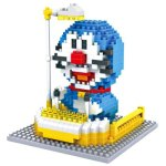 LOZ 360Pcs XXL - 9801 Doraemon Figure Building Block Toy for Enhancing Social Cooperation Ability