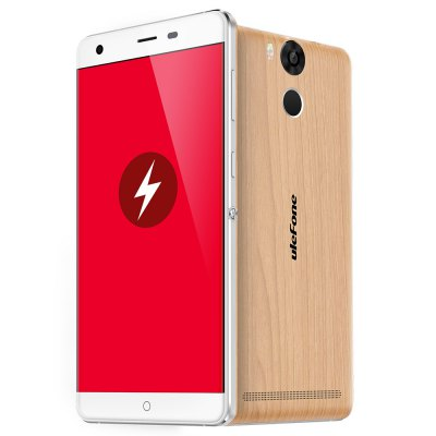 gearbest Ulefone Power MTK6753 1.3GHz 8コア WOODEN(ウッド)