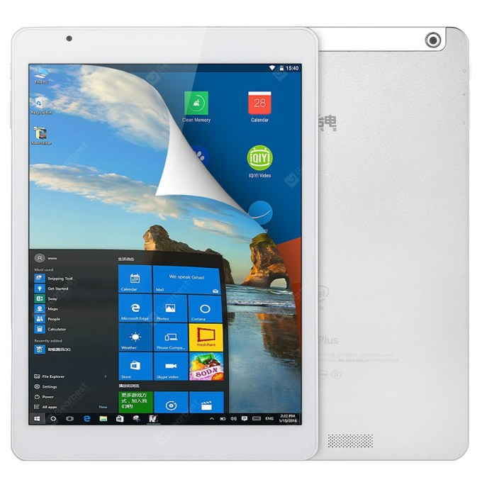 gearbest Teclast X98 Plus  Atom Cherry Trail x5-Z8300 1.44GHz 4コア Wifi