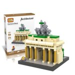 LOZ 9385 Brandenburg Gate Diamond Building Block Educational Toy 560Pcs - World Great Architecture Series