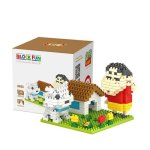 LOZ 9463 Mini Crayon Shin-chan Diamond Building Block 300Pcs Educational Toy