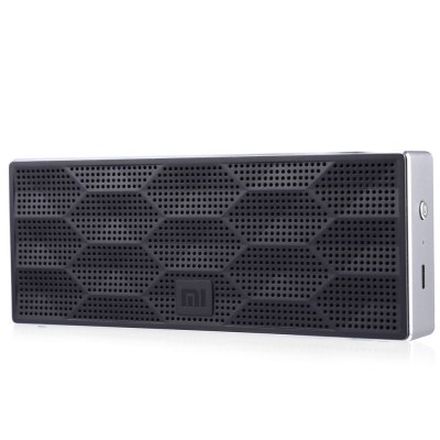 Gearbest Original Xiaomi Wireless Bluetooth 4.0 Speaker  -  BLACK