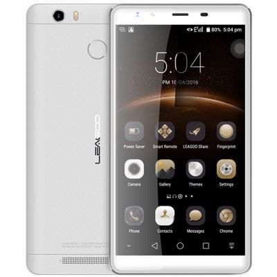 gearbest Leagoo Shark 1 MTK6753 1.3GHz 8コア SILVER(シルバー)