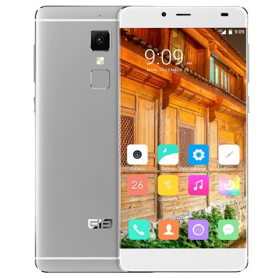 gearbest Elephone S3 MTK6753 1.3GHz 8コア SILVER(シルバー)