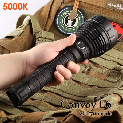 convoy,l6,5000k,flashlight,coupon,price,discount