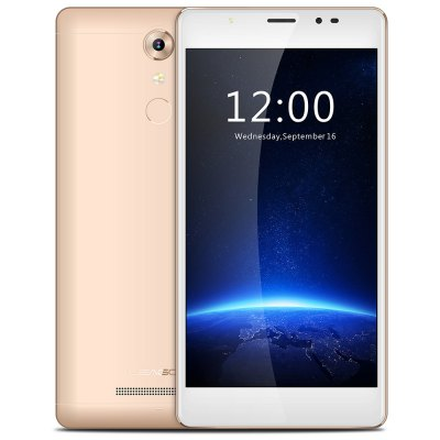 gearbest Leagoo T1 Plus MTK6737 1.3GHz 4コア GOLDEN(ゴールデン)