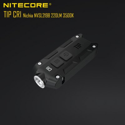 Nitecore TIP CRI Flashlight Black
