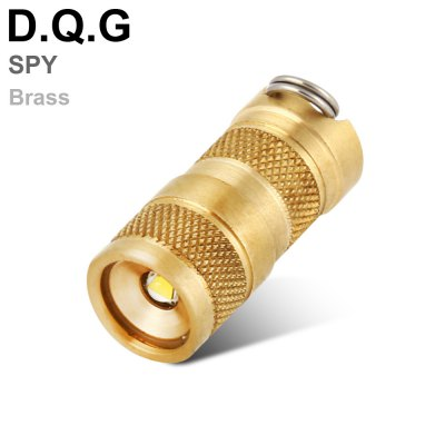 DQG SPY Golden Flashlight