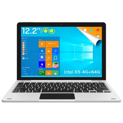 gearbest TBook 12 Pro Atom Cherry Trail x5-Z8300 1.44GHz 4コア SILVER(シルバー)