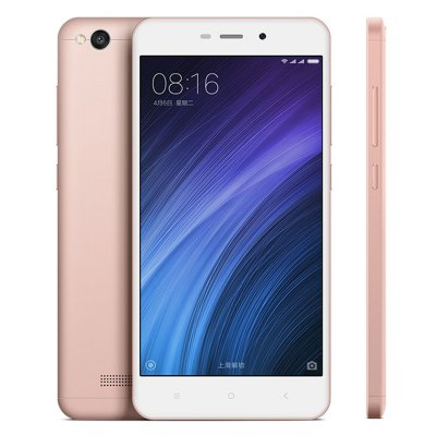 gearbest Xiaomi Redmi 4A Snapdragon 425 MSM8917 1.4GHz 4コア ROSE GOLD(ローズゴールド)