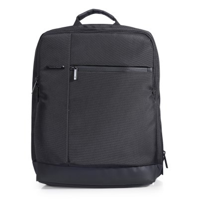 Gearbest Original Xiaomi 17L Classic Business Style Men Laptop Backpack - BLACK