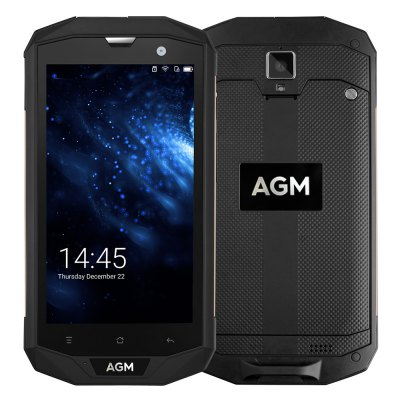 AGM A8 US PLUG 3GB RAM 32GB ROM Android 7.0 IP68 Waterproof 4050mAh Battery 4G Smartphone