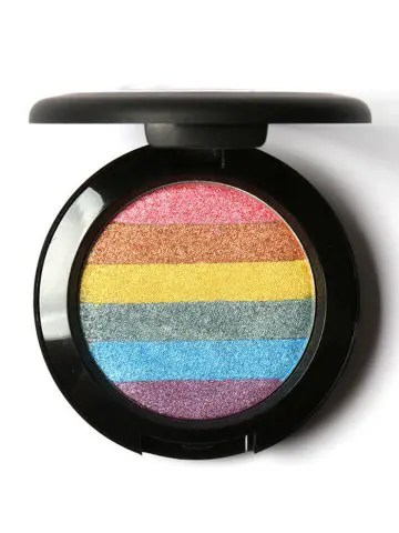 Outfits Soft Mineral Rainbow Palette Highlighting Shimmer Powder