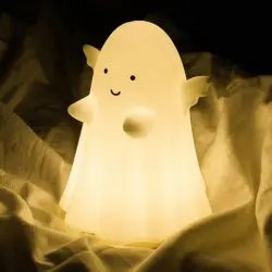 Angel Ghost USB Charge Touch Sensor Mini Night Light - WHITE 16*12*11CM